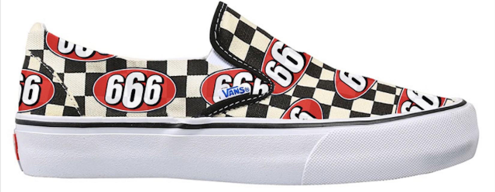 Slip-On Supreme 666 Checker
