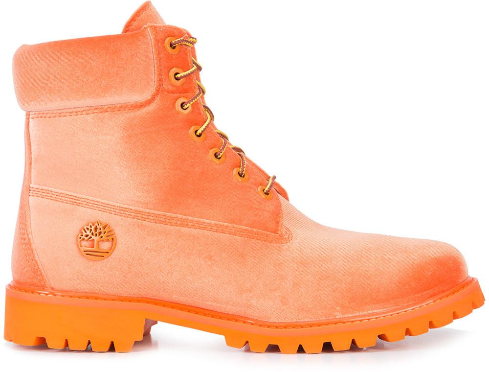 Timberland 6 Boot Off White Orange