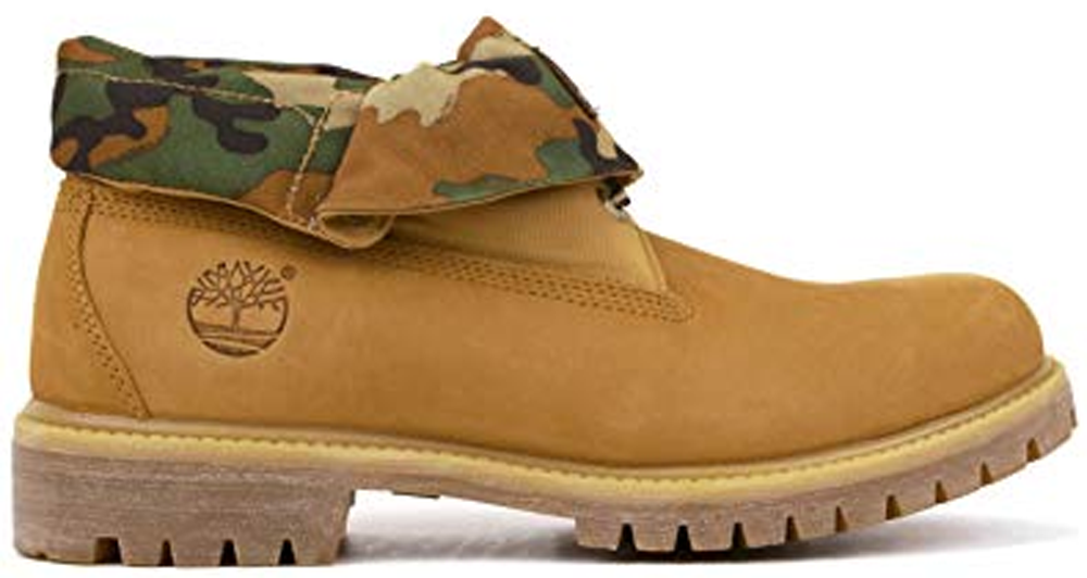 Roll-Top Boot Wheat Camo - Sneakers