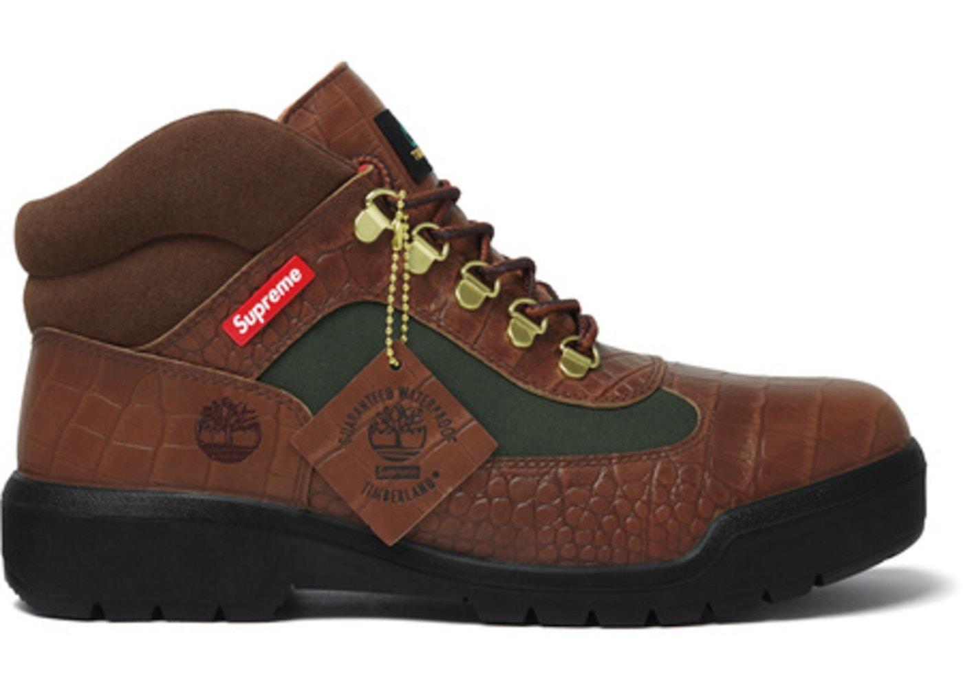 Supreme x Timberland Field Boot | Highsnobiety