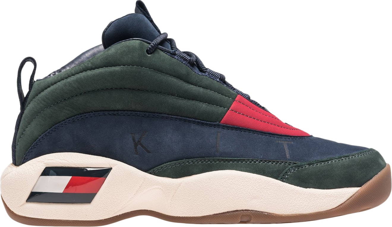 Tommy Hilfiger Skew Lux Basketball Sneaker Kith Green