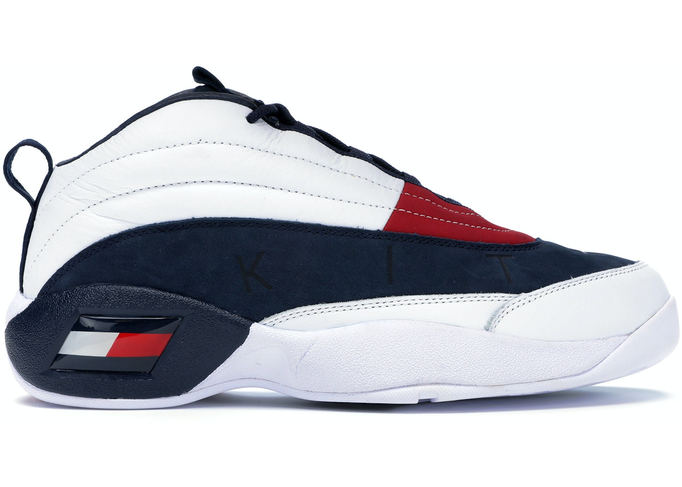 5e43062fc Tommy Hilfiger Skew Lux Basketball Sneaker Kith White - KH9243-100