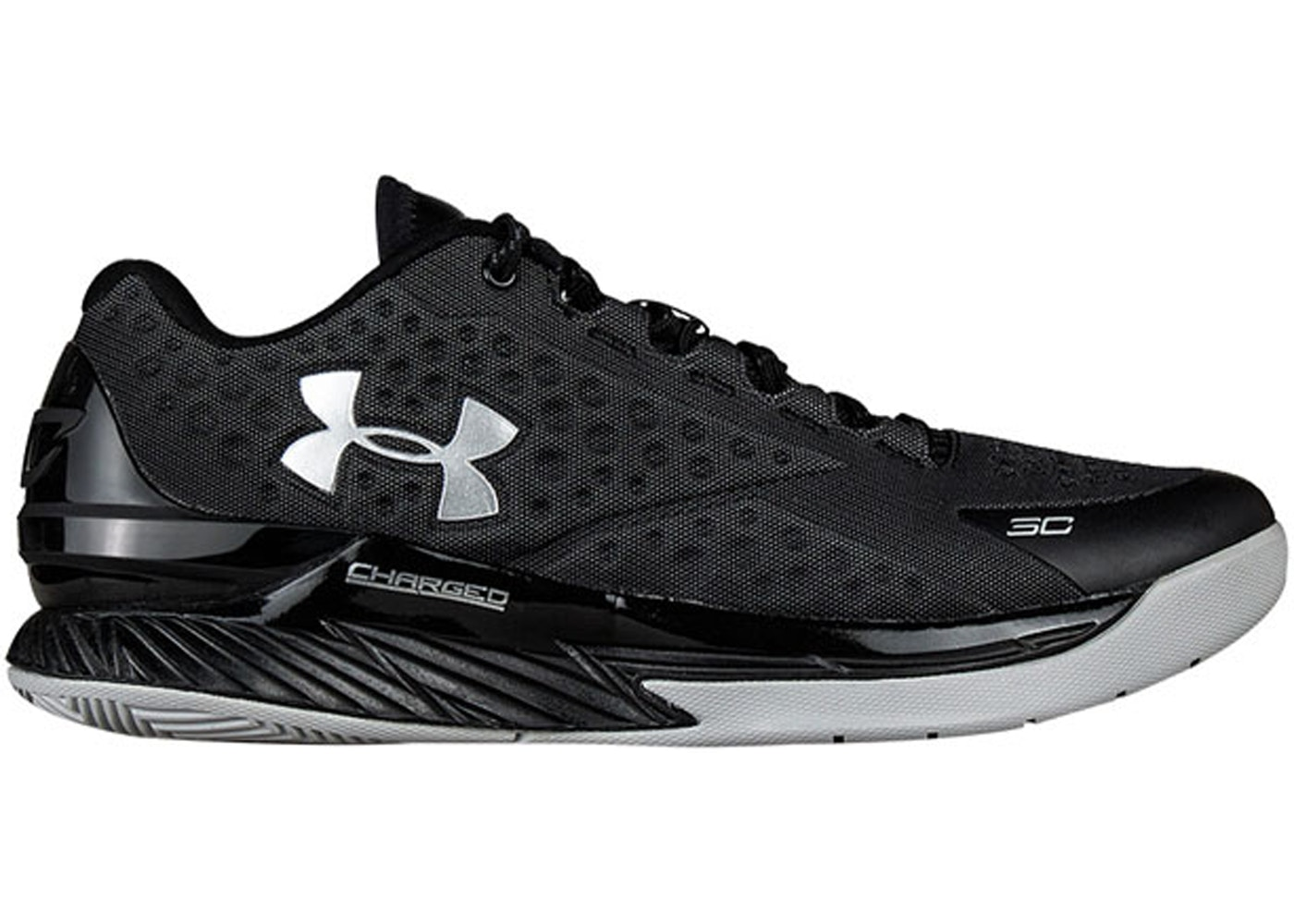 Under Armour Curry One Low Black Stealth Grey (1269048-004)