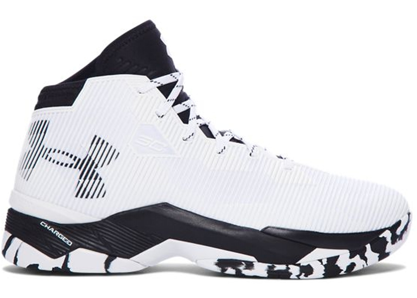 03306733f94f Under Armour Curry 2.5 White Black - 1274425-104