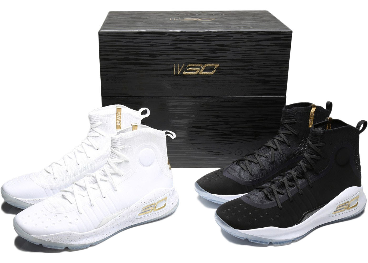 on sale eea0a f6d9b Under Armour Curry 4 Champ Pack