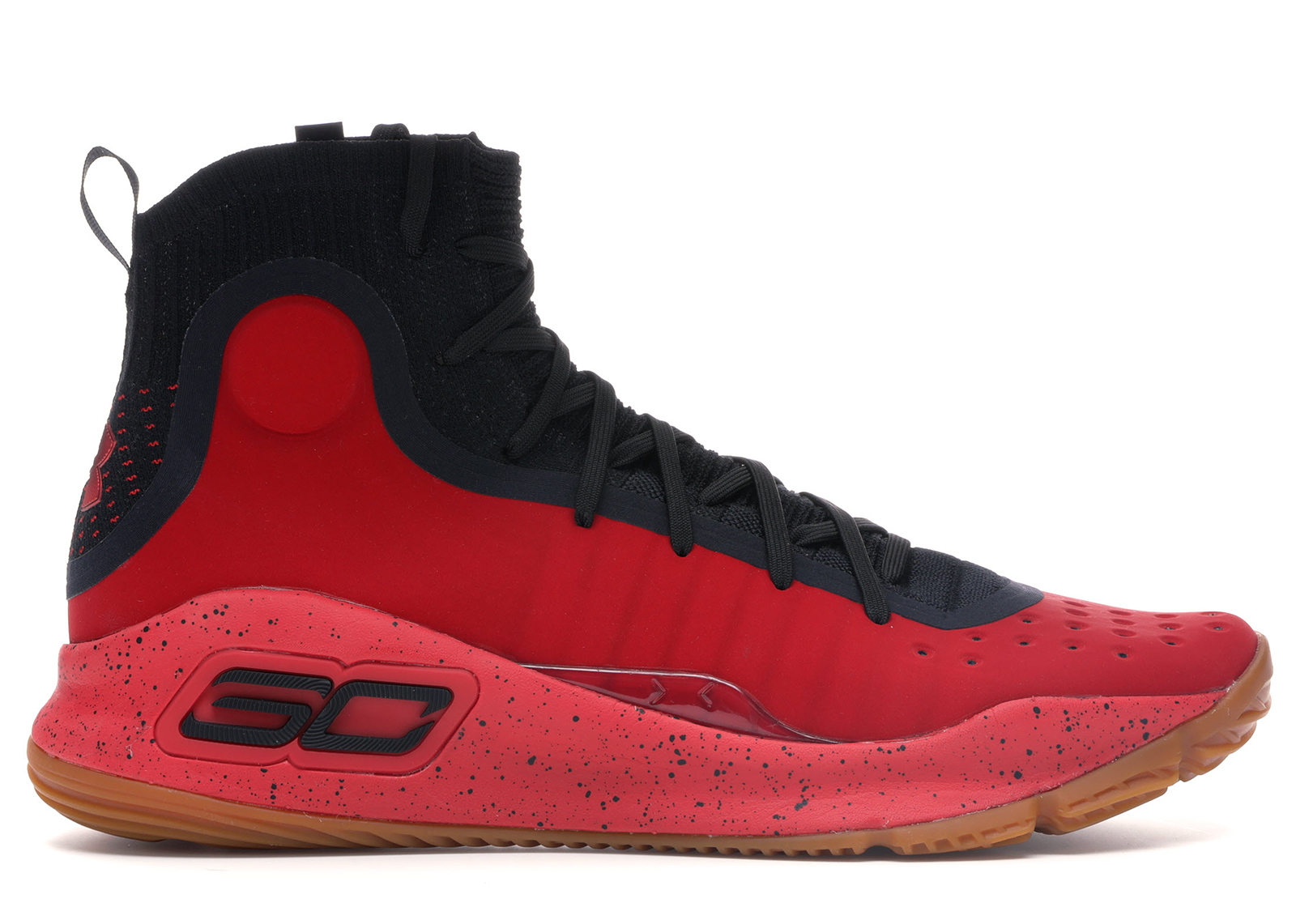 Under Armour Curry 4 Red Black Gum