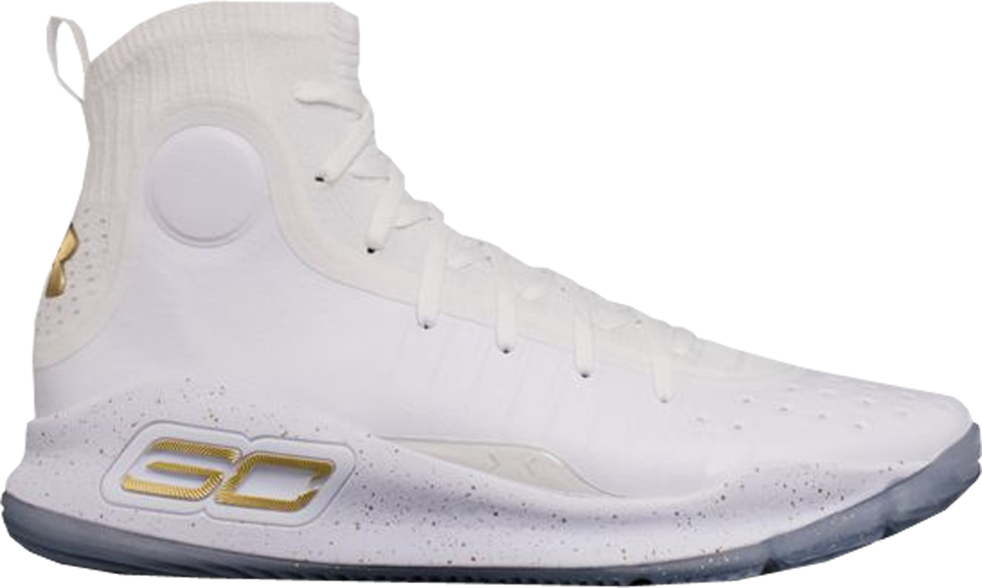 Under Armour Curry 4 White Gold