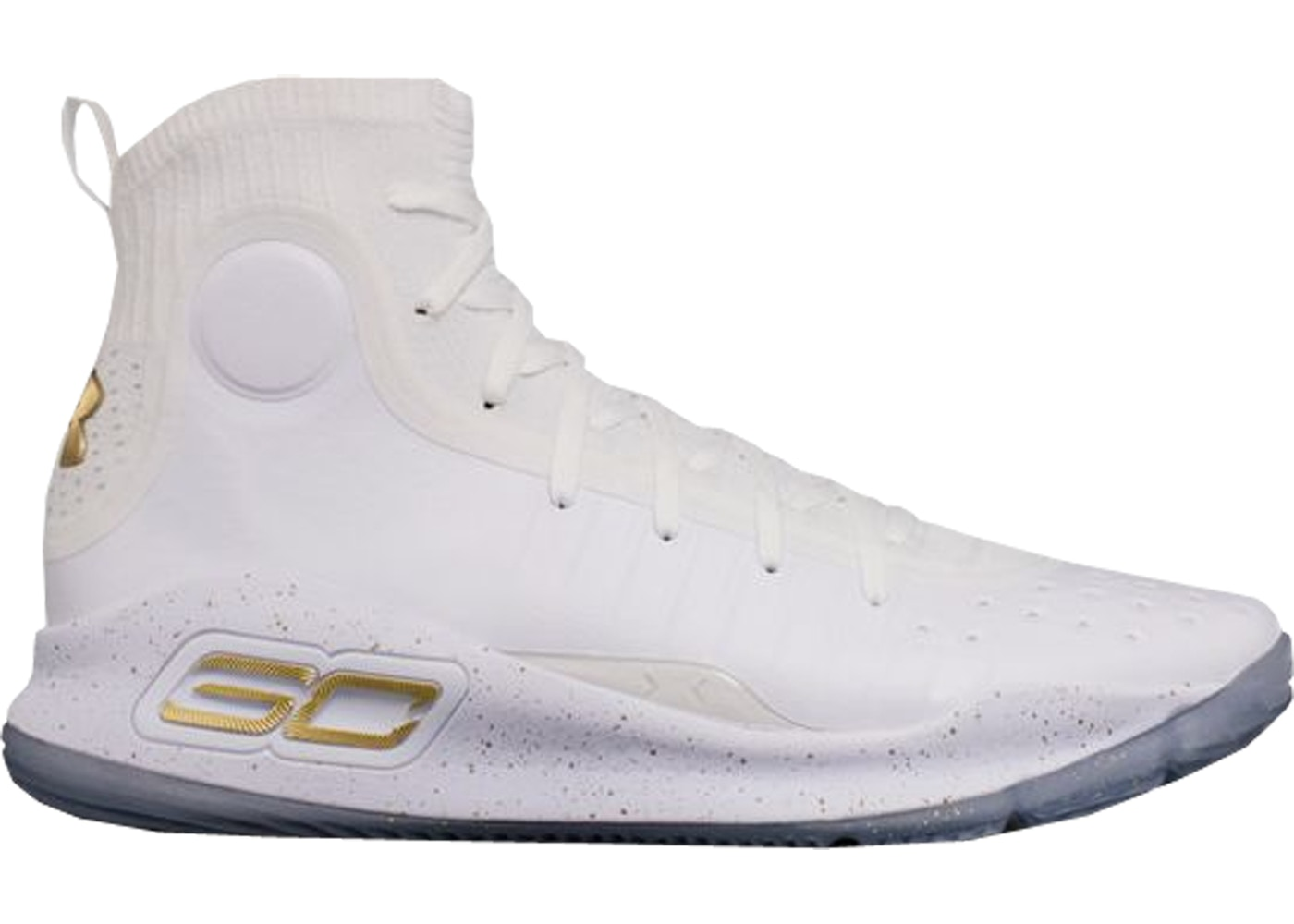 separation shoes 91018 882e3 Under Armour Curry 4 White Gold