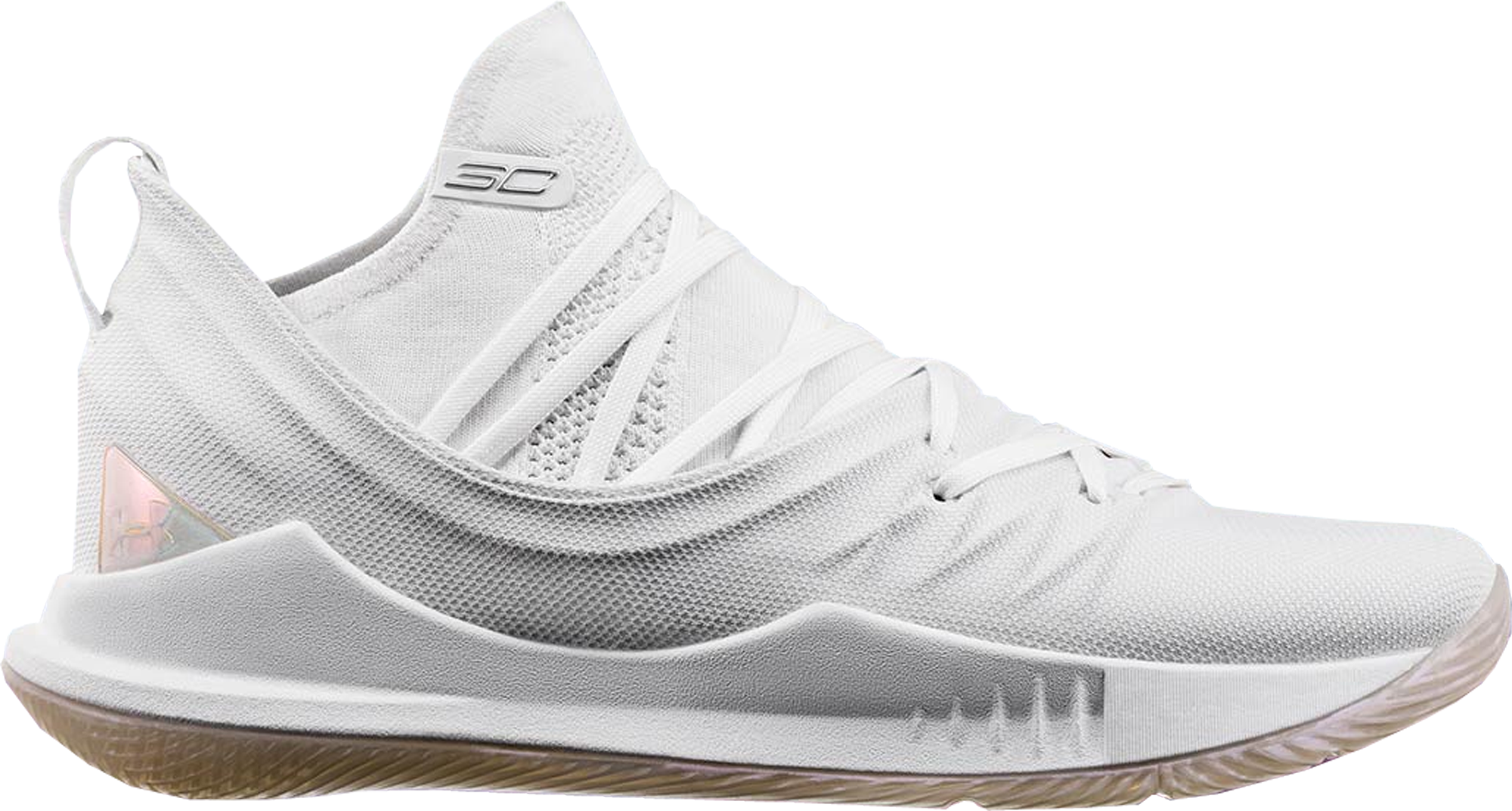 Under Armour Curry 5 White - Sneakers