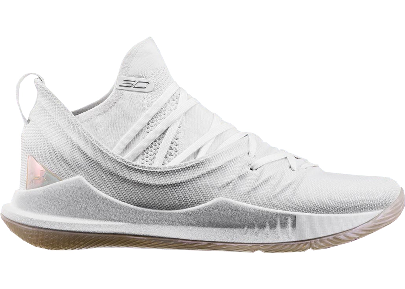 new concept 6c87f 20493 Under Armour Curry 5 White