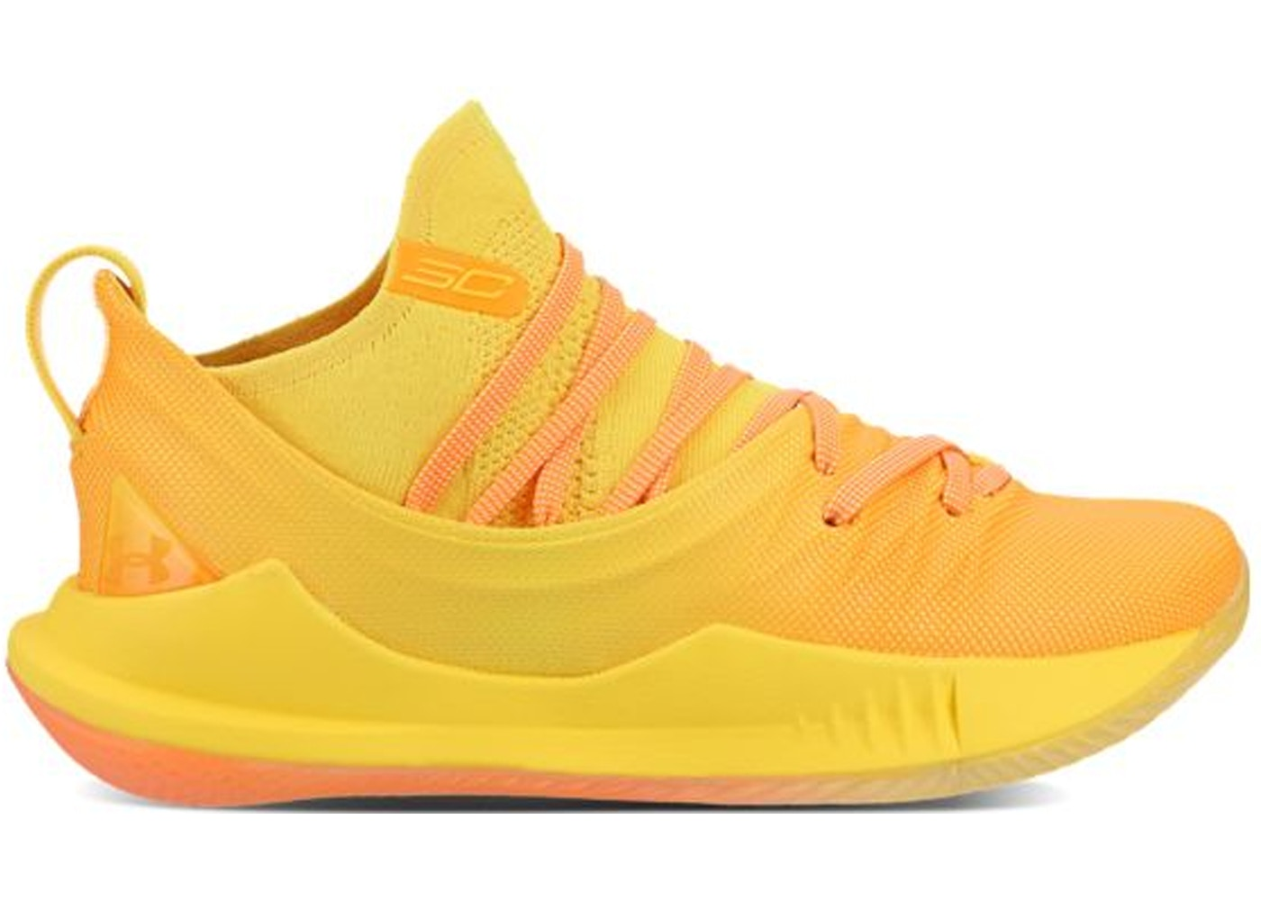 Under Armour Curry 5 Yellow Orange - 3021708-700 6accde6a5