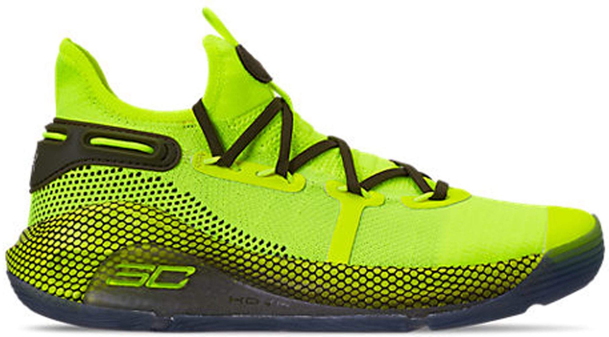 Under Armour Curry 6 High Vis Yellow