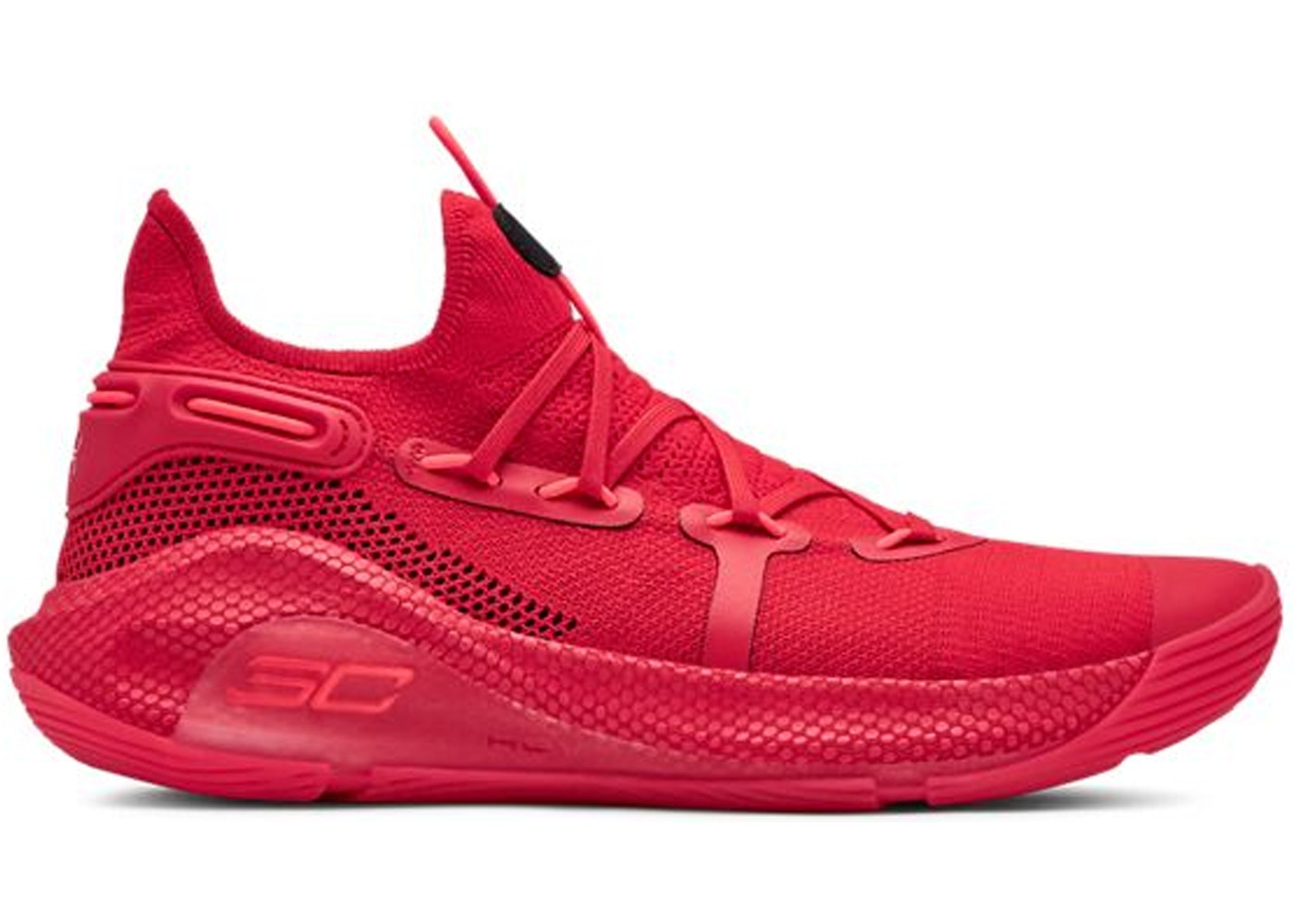 19351e6eed47 Under Armour Curry 6 Red - 3020612-603