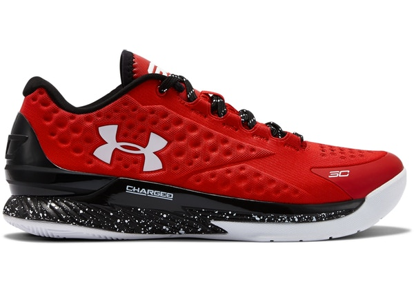 low priced b0993 860f2 UA Curry 1 Low Red - 1276195-600