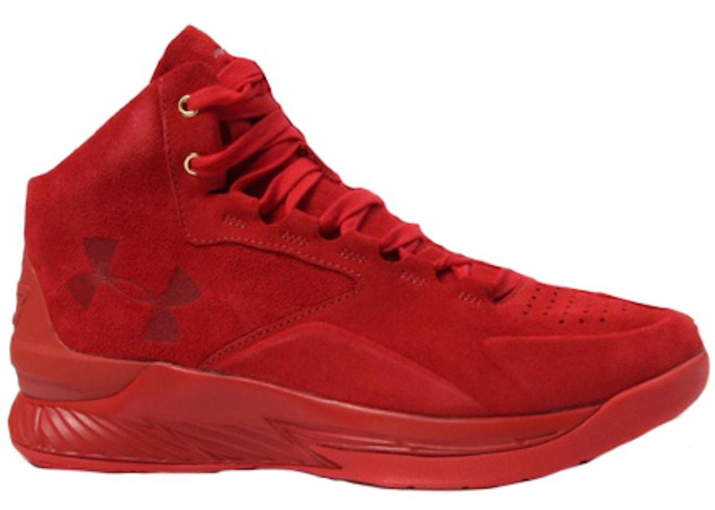 best service ffeef 5ccf3 UA Curry 1 Lux Red
