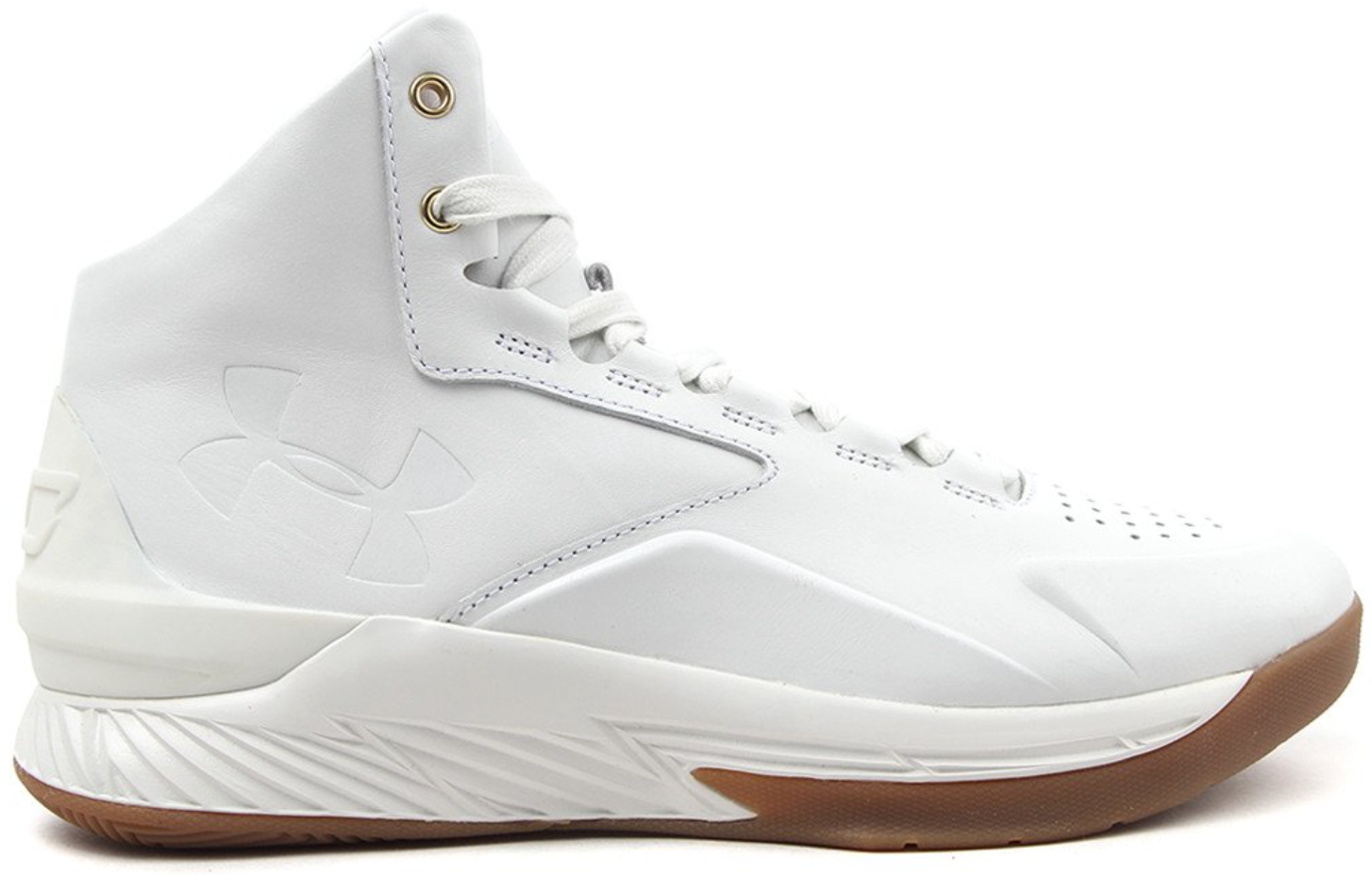 Under Armour Curry 1 Mid Lux Men/'s White Gum 1298700 100