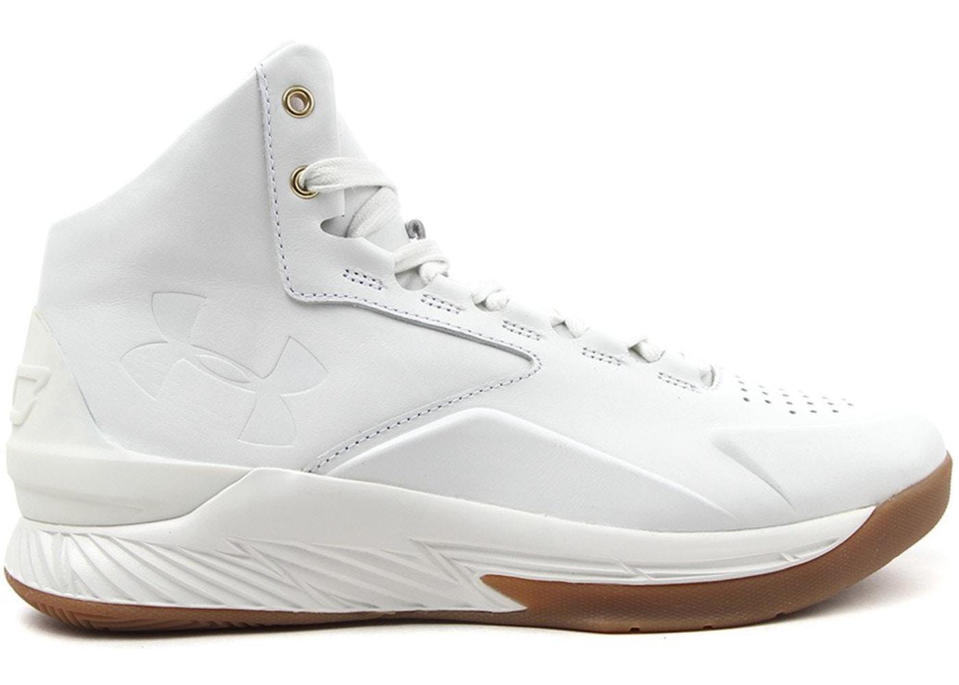 lowest price 8c02a 601c2 UA Curry 1 Lux White Gum