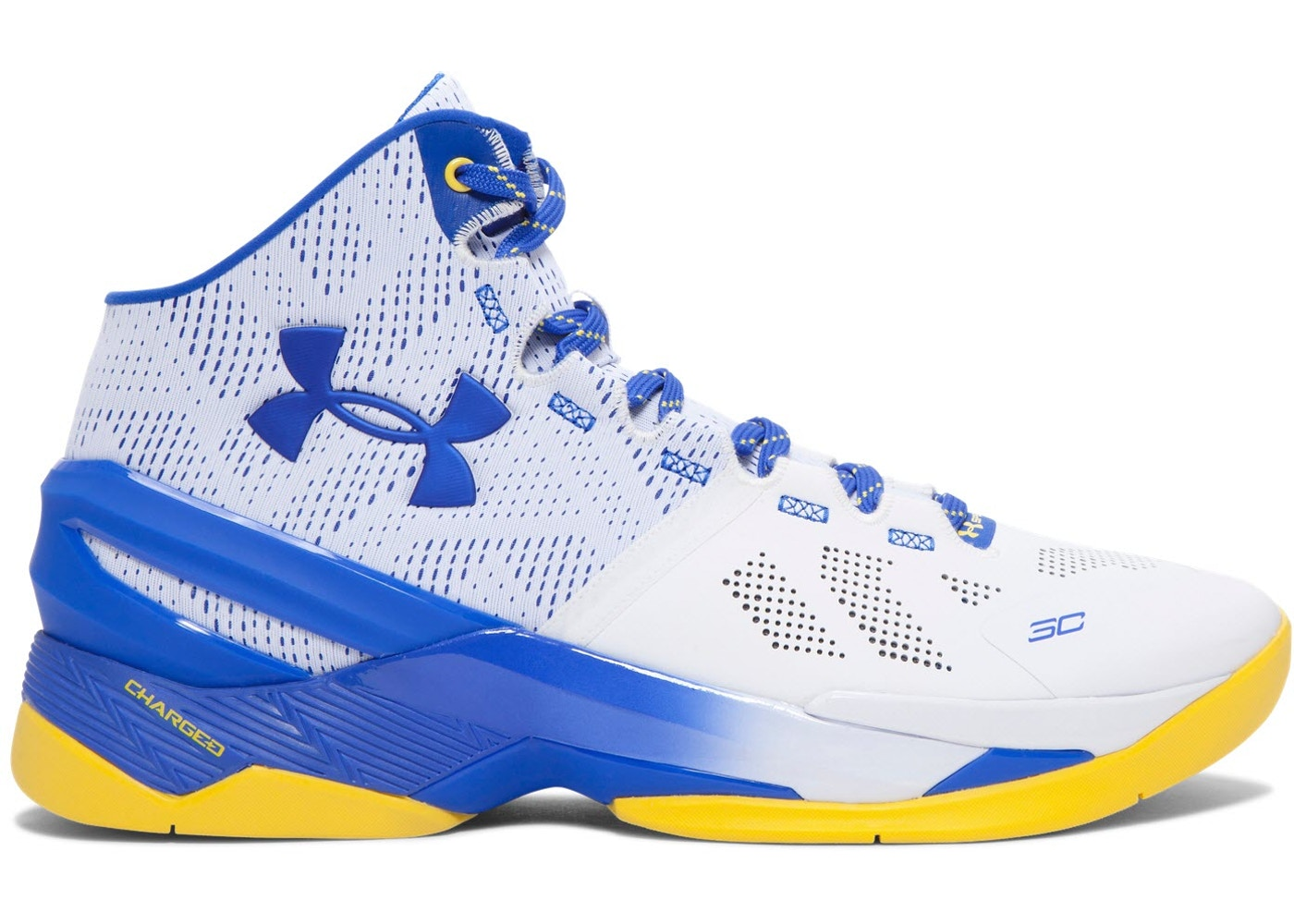 UA Curry 2 Dub Nation Home - 1259007-104 071568531132
