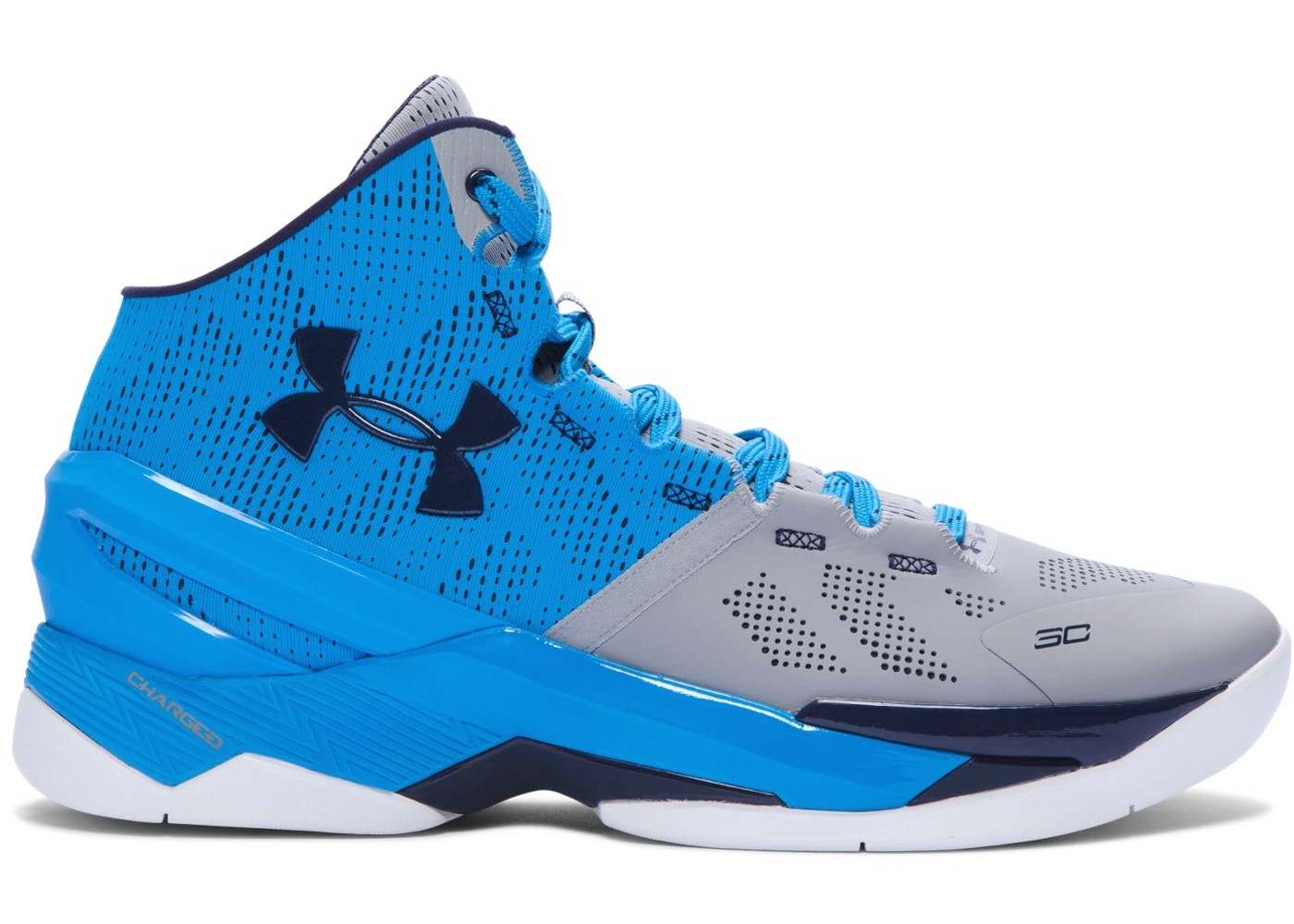 1aed81ab UA Curry 2 Electric Blue - 1259007-036