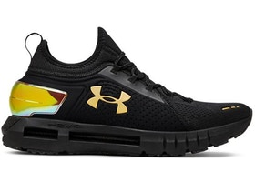 hot sale online 7d2b3 89fa2 Under Armour Hovr Phantom SE MD Black Gold