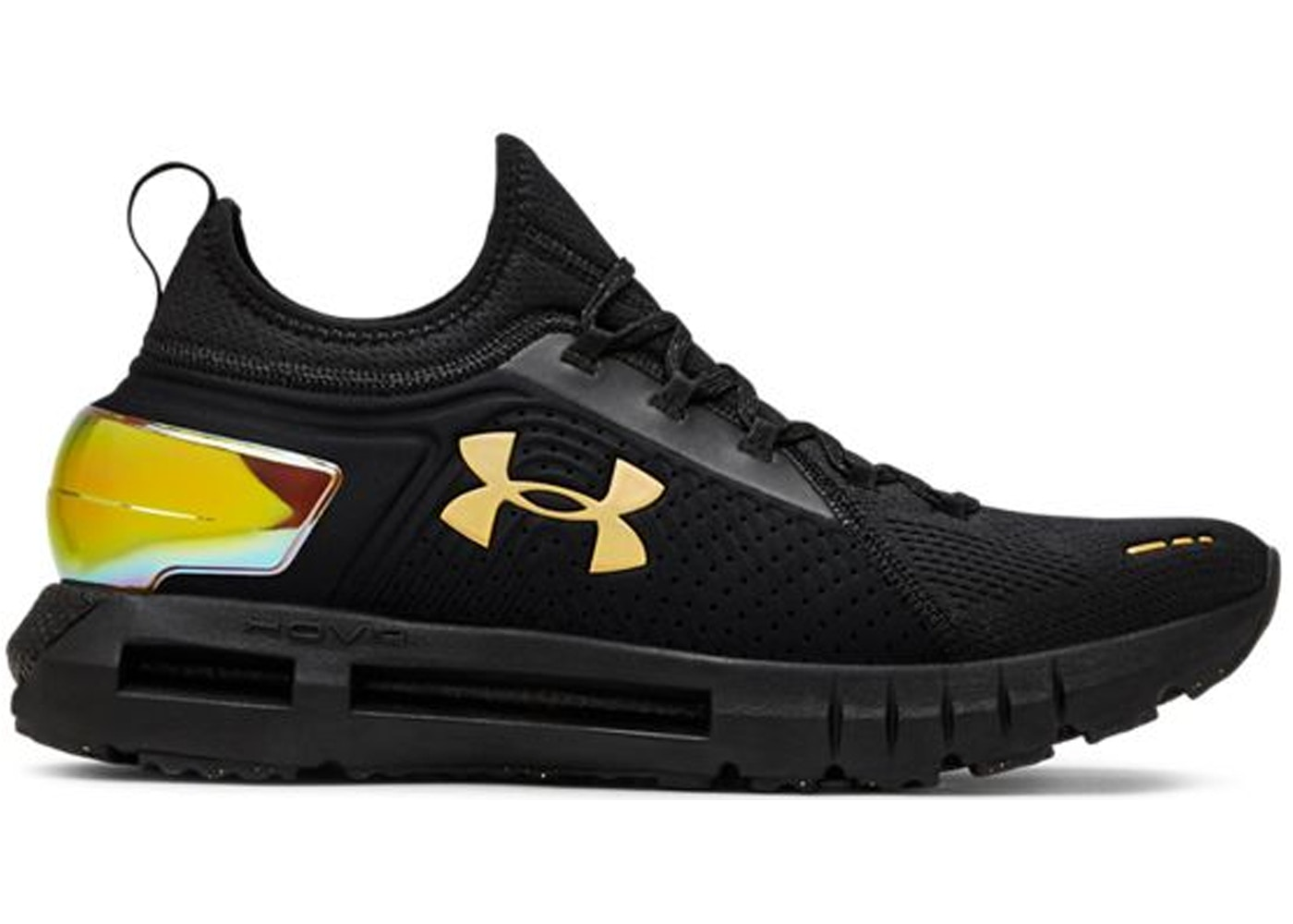 hot sale online bbfa7 014a9 Under Armour Hovr Phantom SE MD Black Gold