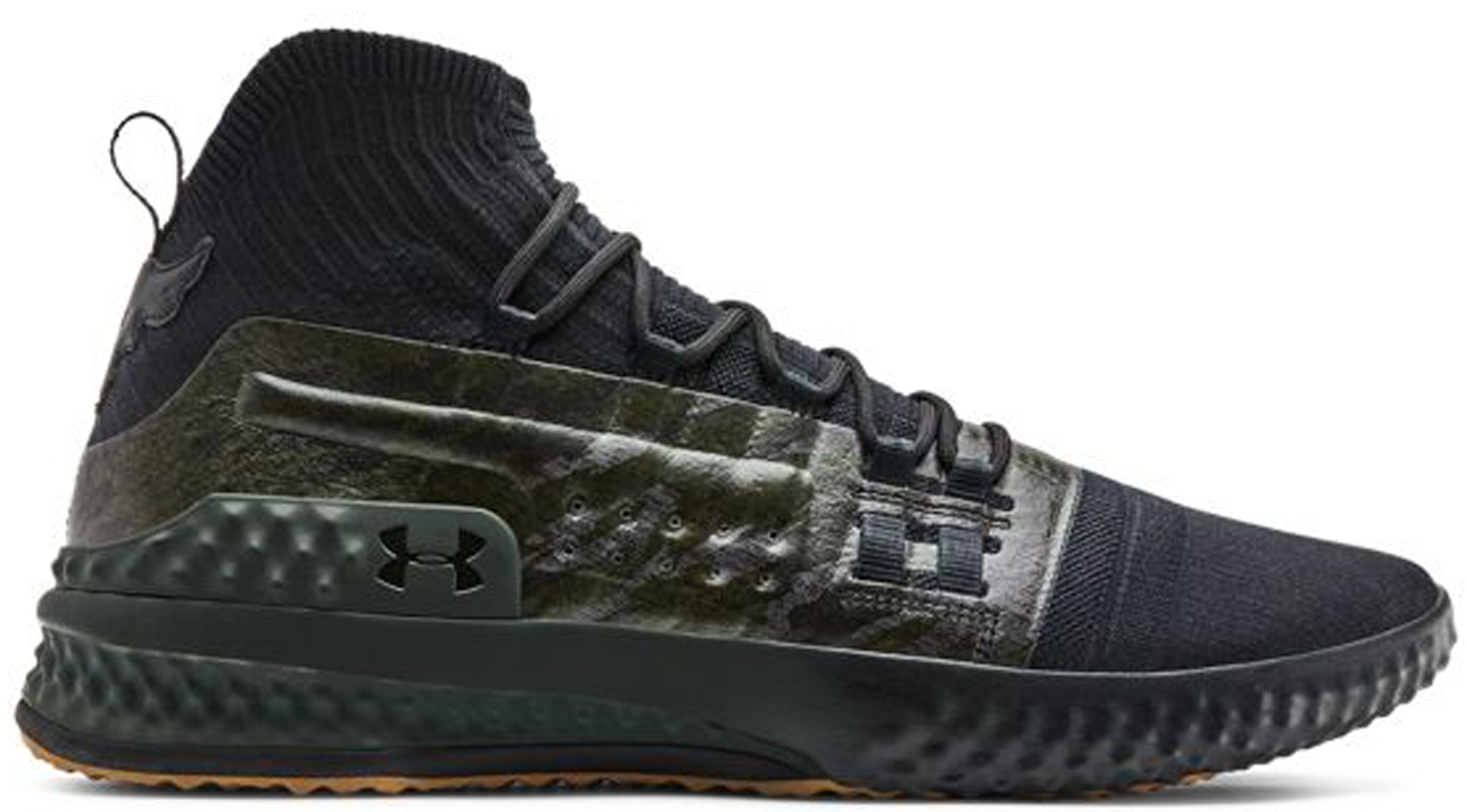 Under Armour Project Rock 1 Black Green