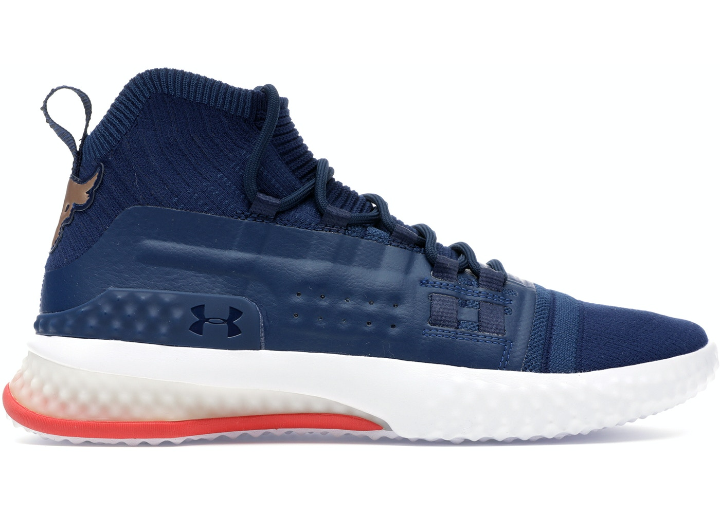 Under Armour Project Rock 1 Blue White Red Under Armour Rock Project Shoes