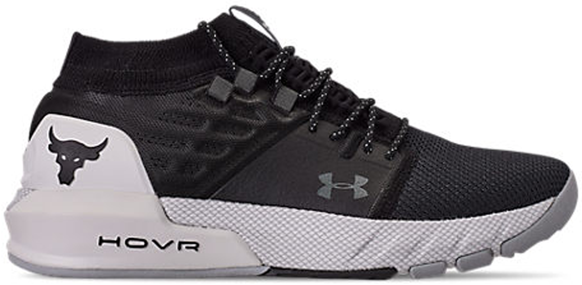 Under Armour Project Rock 2 Black White
