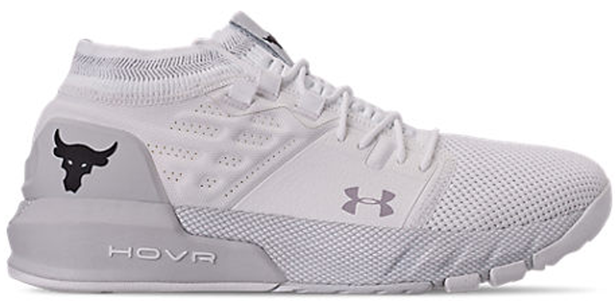 Under Armour Project Rock 2 White Black