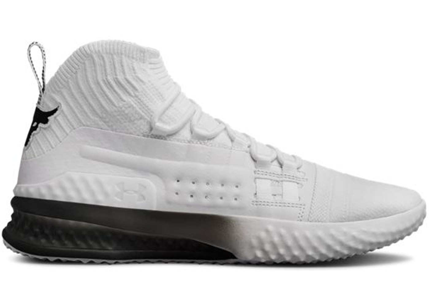 outlet store 9917d 970f9 Under Armour The Rock Delta White Black 2.0