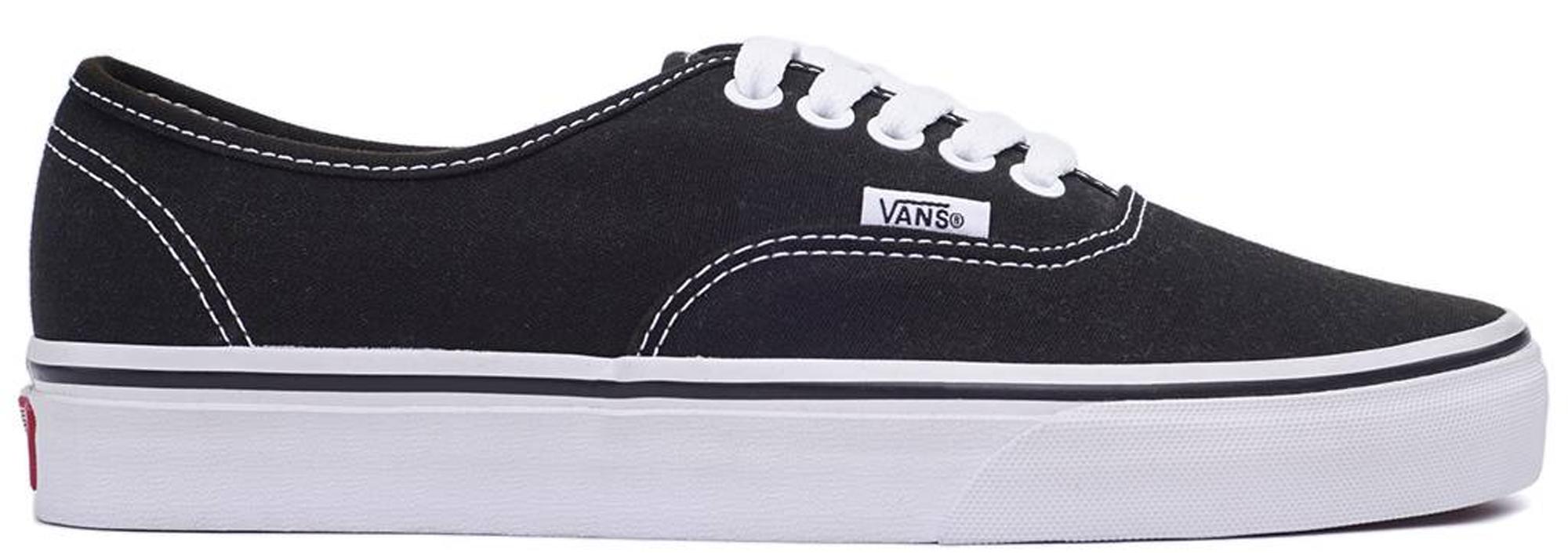 vans black white