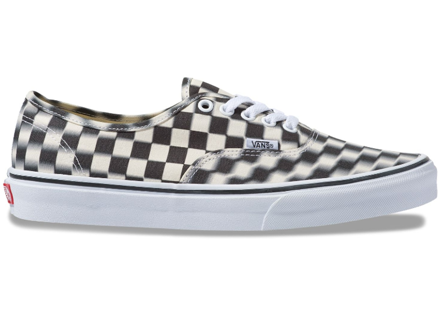 large discount exclusive shoes search for best Vans Authentic Blur Check Black