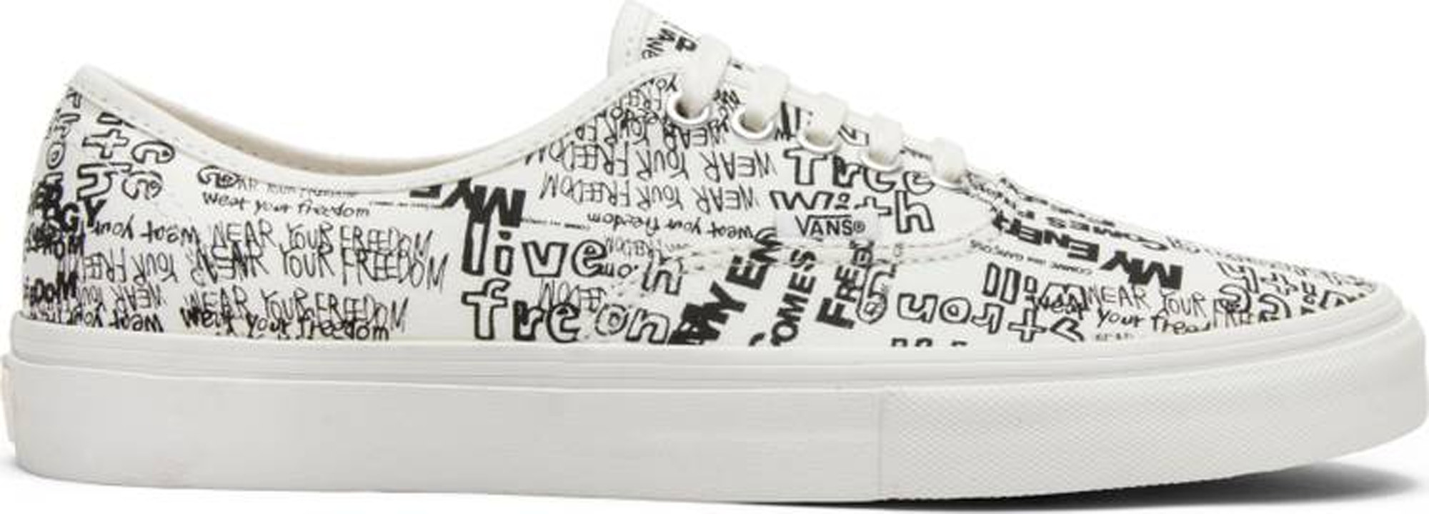 Vans Authentic Comme des Garcons White (Japan) - VN0A33TAKXY