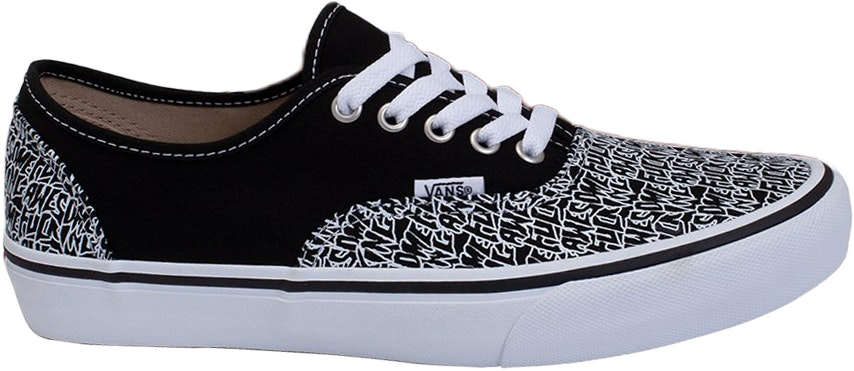 Vans Authentic Fucking Awesome Black