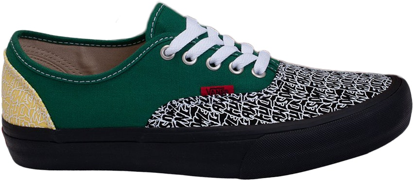 Vans Authentic Fucking Awesome Green