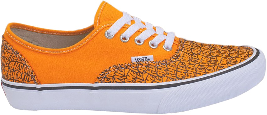 Vans Authentic Fucking Awesome Orange