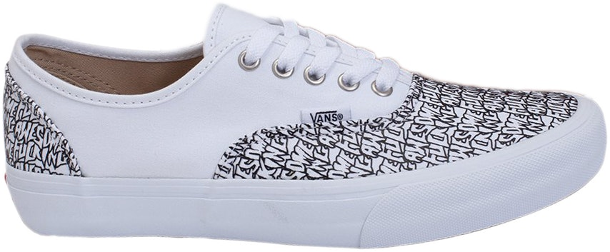 Vans Authentic Fucking Awesome White