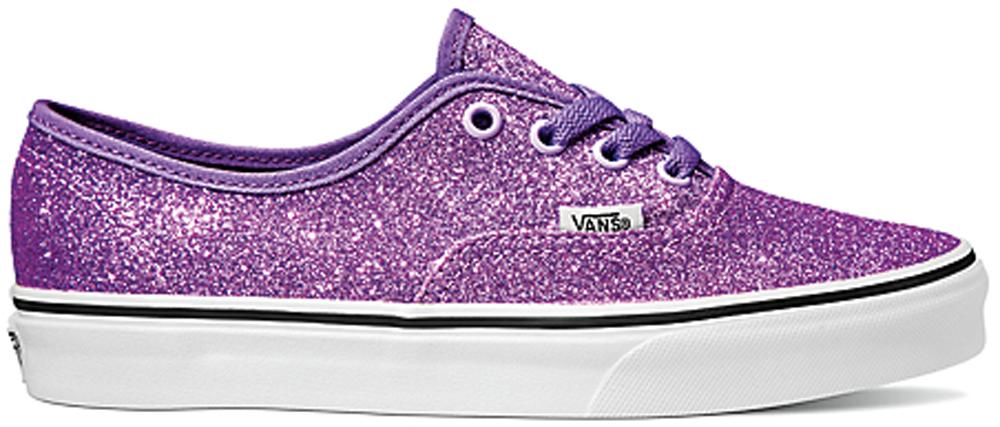 Vans Authentic Glitter Purple (W