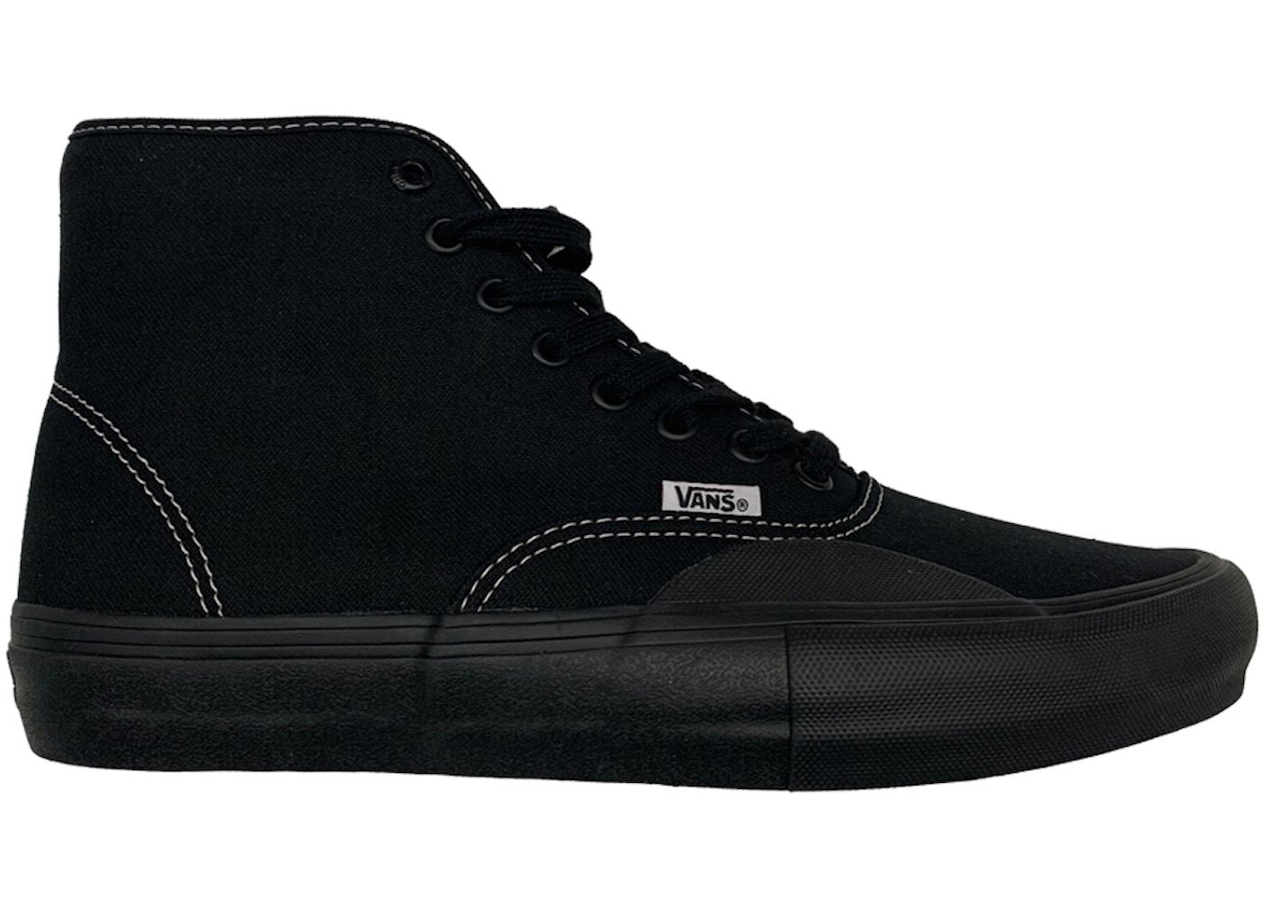 Vans Authentic Hi Hockey Aa Black Sneakers