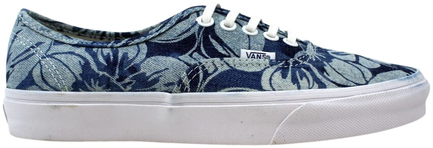 Vans Authentic Indigo Tropical Blue