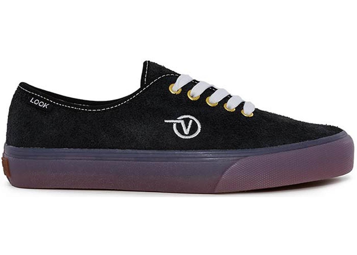 vans black authentic