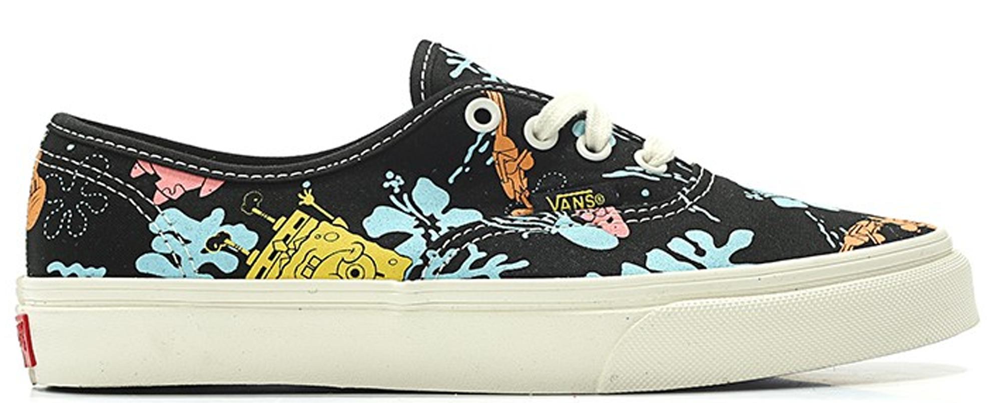 spongebob vans aloha blue