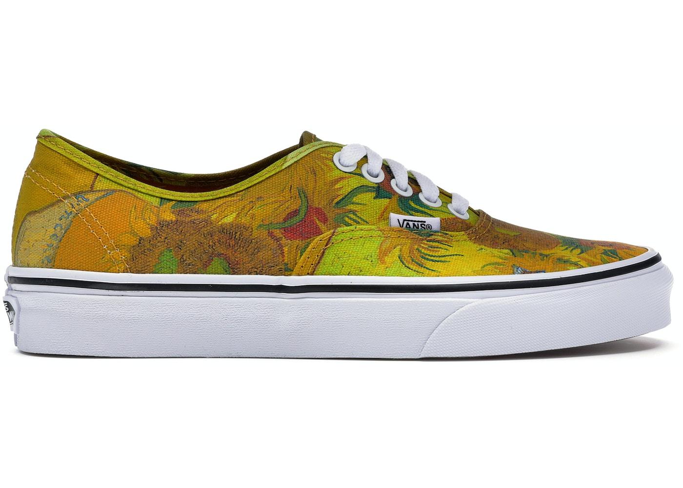 917d649e75e Vans Authentic Van Gogh Sunflowers (W) - VA38EMU3W