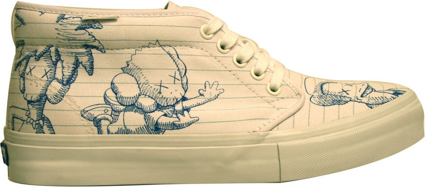 "Vans Chukka Boot LX Kaws ""The Simpsons"" (2007)"