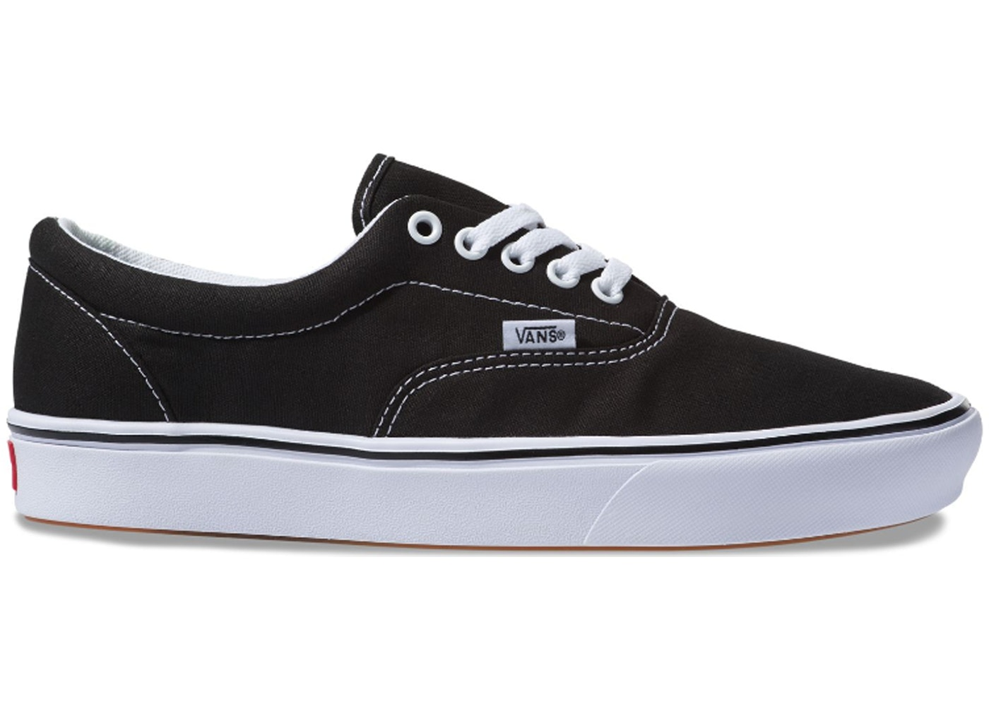 Vans Comfycush Era Black True White