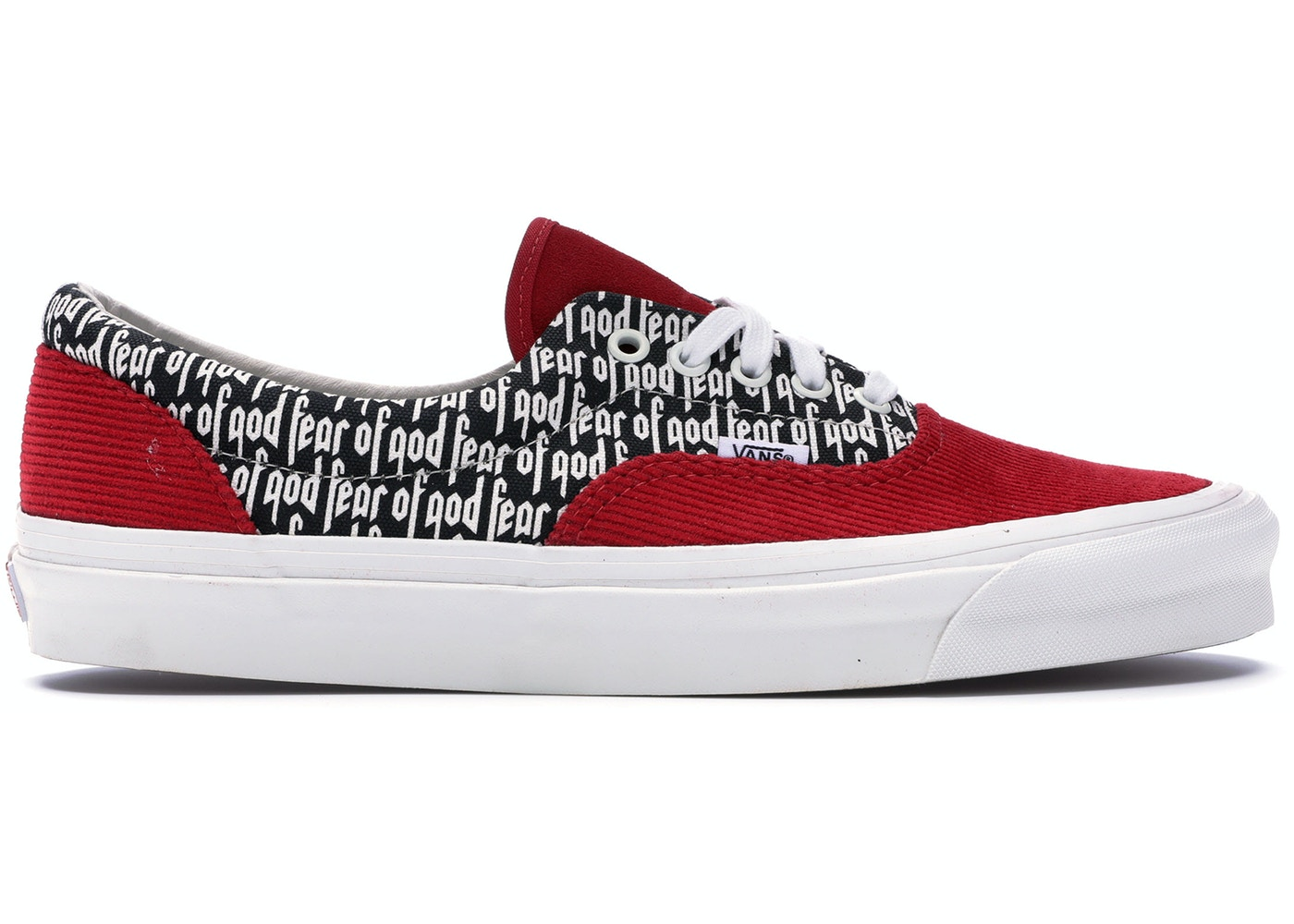 2019 discount sale many choices of best supplier Vans Era 95 DX Fear of God Red