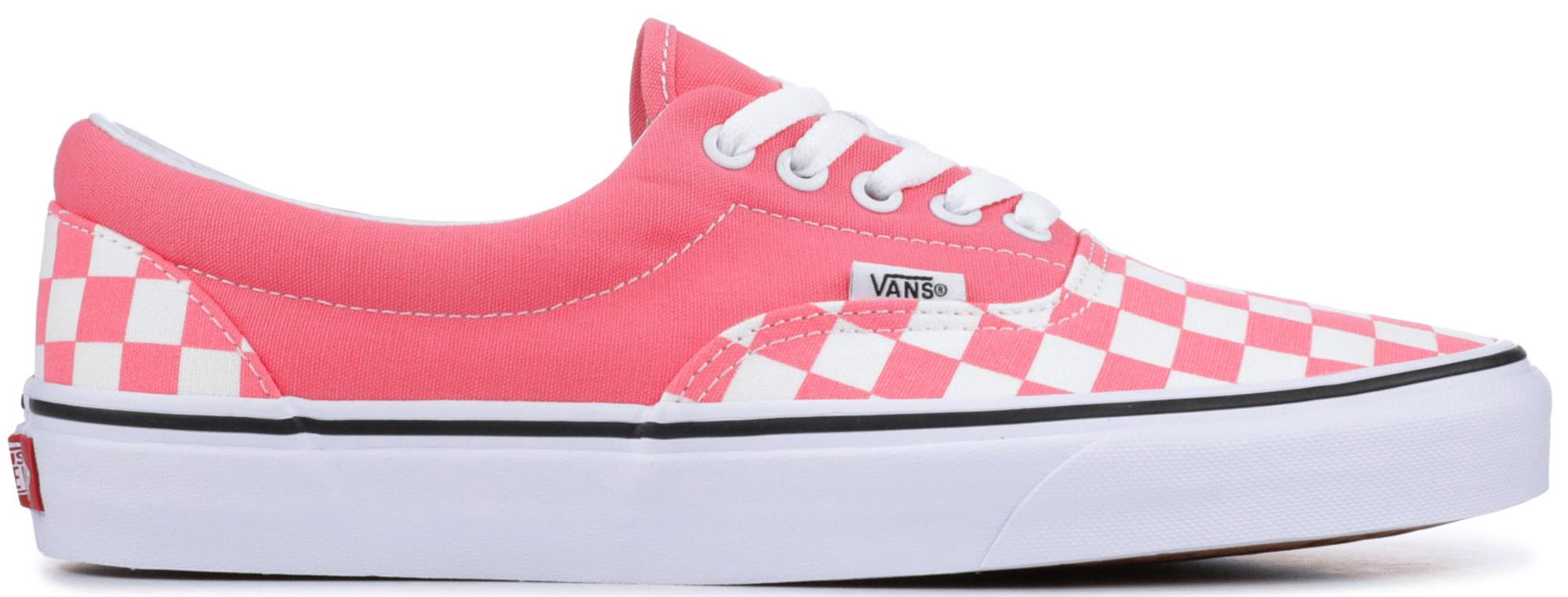 Vans Era Checkerboard Strawberry (W