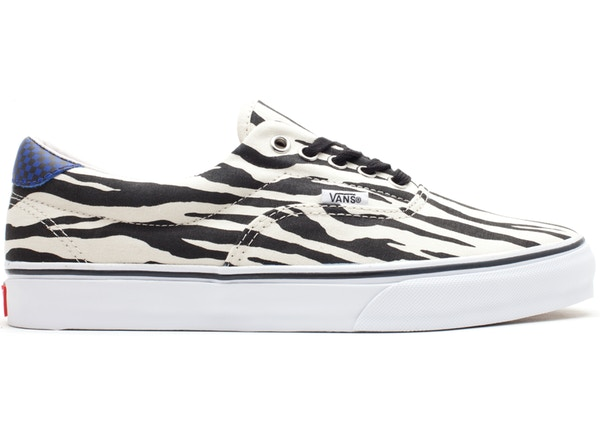 2235f26adf5372 Vans Era Style 46 Supreme Zebra White