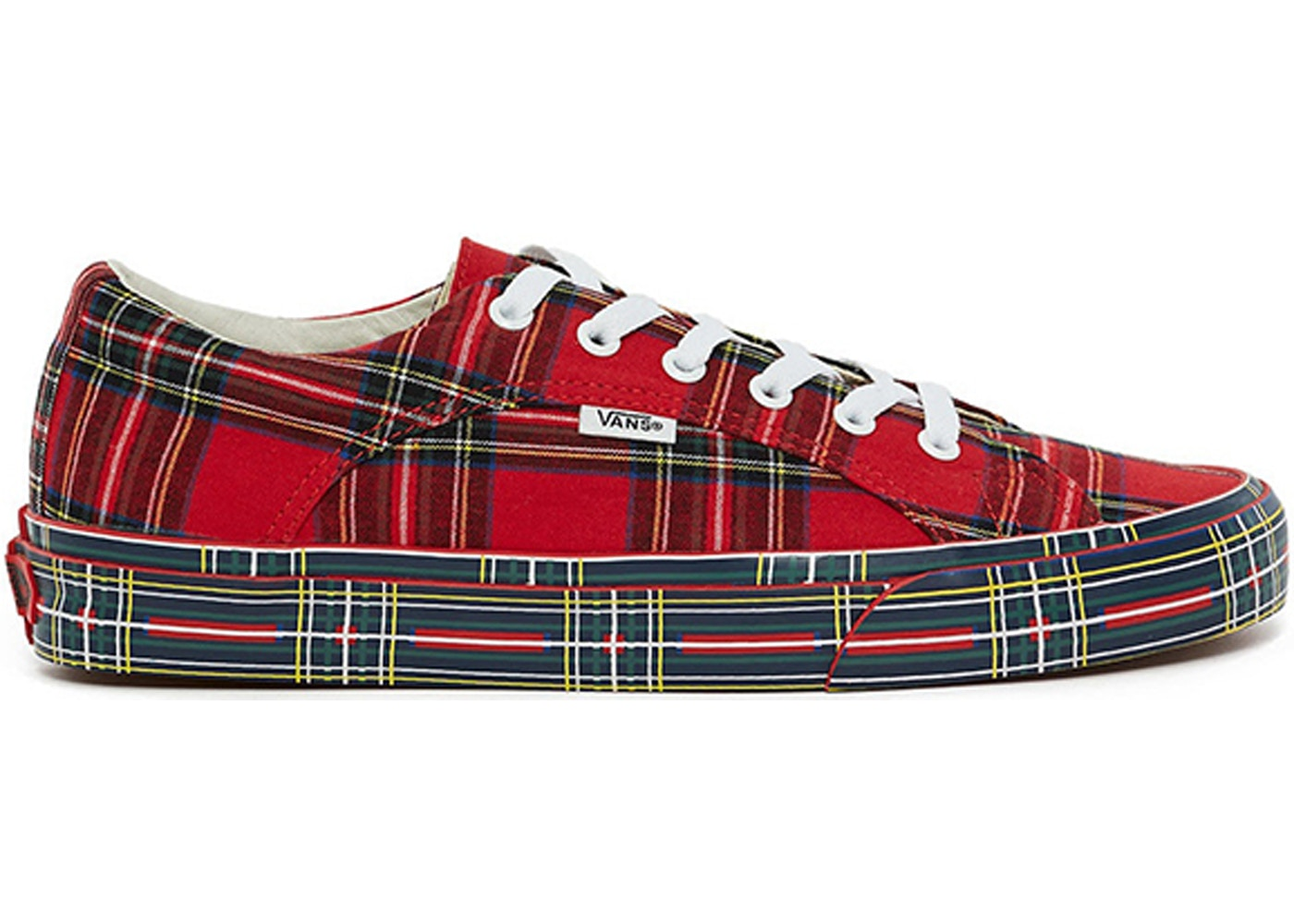 43e93c50ea31e9 Vans Lampin Opening Ceremony Plaid Red - TBD