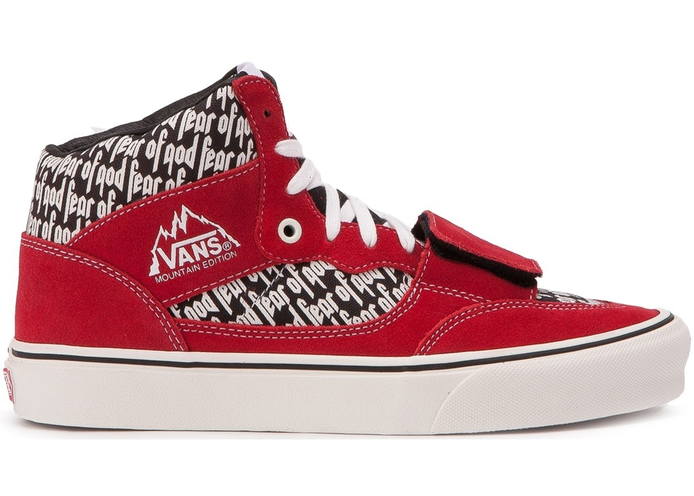 purchase newest select for newest shades of Vans Mountain Edition Fear of God Red